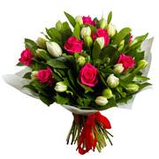 Срезанные цветы,  свежие букеты,  шары.